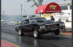 Bobb Makley 535 Procharged, flat tappet cammed, stage 2 headed, 8.80's @ 153 MPH at 3700LBS and stock suspension.